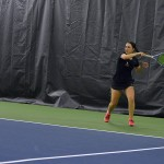 Tennis Teams Win MIAA Contests