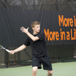 Tennis Falls, Metzler Thrives