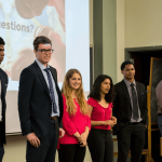 Students Present on Trip to NYC to Network with K Alumni in the Finance Industry