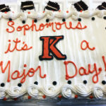 Let Them Eat Cake: Sophomores Declare Majors on Special Day